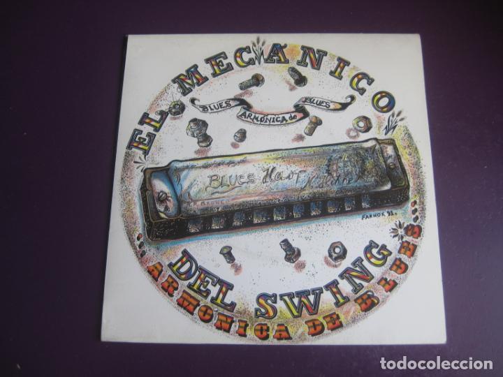 EL MECÁNICO DEL SWING - ARMONICA DE BLUES - SG SONO RECORDS 1991 - ROCK 90'S - SIN USO (Música - Discos - Singles Vinilo - Grupos Españoles de los 90 a la actualidad)