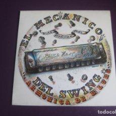 Disques de vinyle: EL MECÁNICO DEL SWING - ARMONICA DE BLUES - SG SONO RECORDS 1991 - ROCK 90'S - SIN USO. Lote 218857516