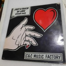 Discos de vinilo: C & C MUSIC FACTORY - JUST A TOUCH OF LOVE. Lote 218858266