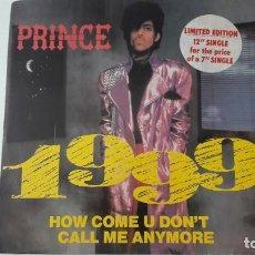 "Discos de vinilo: PRINCE MAXI 12"" 1999 ED. UK LIMITADA 1982. Lote 218859082"