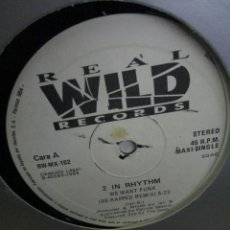 Discos de vinilo: 2 IN RHYTHM ?– WE WANT FUNK. Lote 218861690
