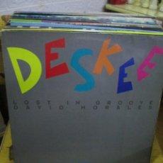 Discos de vinilo: DESKEE ?– LOST IN GROOVE (DAVID MORALES REMIX). Lote 218862021