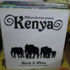 Discos de vinilo: KENYA (2) ?– BLACK & WHITE. Lote 218863781