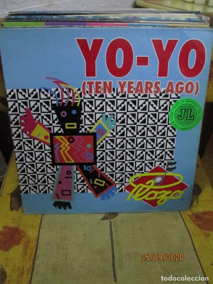 PLAZA – YO-YO (TEN YEARS AGO) (Música - Discos de Vinilo - Maxi Singles - Techno, Trance y House)