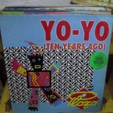 Discos de vinilo: PLAZA – YO-YO (TEN YEARS AGO). Lote 218864206
