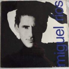 Discos de vinilo: MIGUEL RÍOS - MIGUEL RÍOS (POLYDOR 30.581) (LP, ALBUM) (1989,VZL) (D:VG+). Lote 218864643