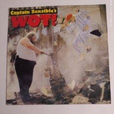 Discos de vinilo: CAPTAIN SENSIBLE'S. WOT! MAXI SINGLE. TDKDA75. Lote 218869203