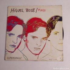 Discos de vinilo: MIGUEL BOSE. - FUEGO. MAXI SINGLE. TDKDA75. Lote 218870266