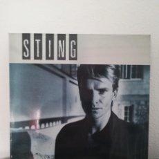 Discos de vinilo: LP STING - THE DREAM OF THE BLUE TURTLES (LP, ALBUM), SPAIN 1985. Lote 218870906