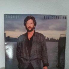 Discos de vinilo: LP GATEFOLD, ERIC CLAPTON - AUGUST, SPAIN 1986. Lote 218873711