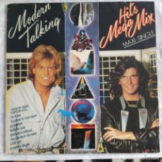 Discos de vinilo: MODERN TALKING - HITS MEGA MIX (ARIOLA - F-611 581) (D:NM). Lote 218877196