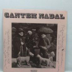 Discos de vinilo: MARIA RAONET, CANTEM NADAL (VENTADORN 1976, EP 6 TEMAS, 33RPM) DEDICATORIA DE LA ARTISTA. Lote 218877258