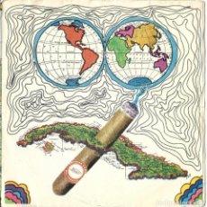 Discos de vinilo: CUBATABACO - OMARA PORTUONDO + RAMON CALZADILLA + JOSEITO FERNANDEZ EP RARO. Lote 218879207
