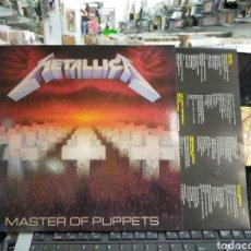 Discos de vinilo: METALLICA LP MÁSTER OF PUPPETS NO OFICIAL. Lote 148957117