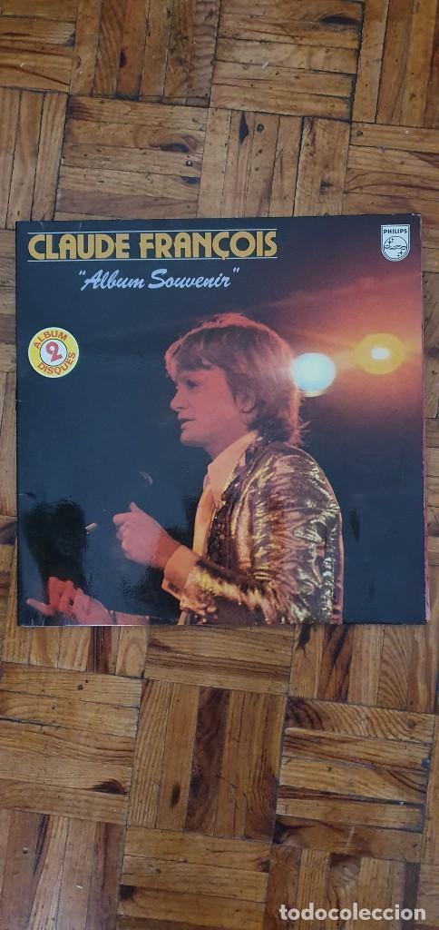 CLAUDE FRANÇOIS ?– ALBUM SOUVENIR SELLO: PHILIPS ?– 6680 299 FORMATO: 2 × VINYL, LP, COMPILATION (Música - Discos - LP Vinilo - Canción Francesa e Italiana)