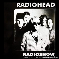 Disques de vinyle: RADIOHEAD - LP RADIOSHOW VINILO LIVE NEW YORK CONCIERTO 1997 MUY RARO COLECCIONISTA. Lote 51641216