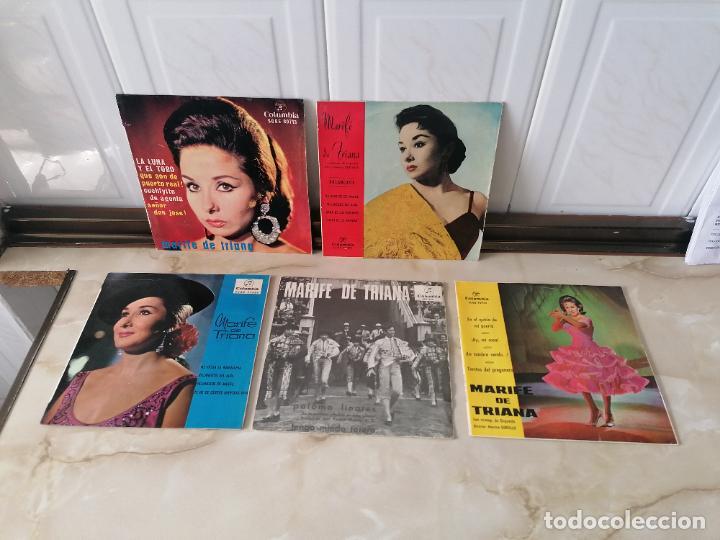 MARIFE DE TRIANA LOTE SINGLE COLUMBIA VILLANCICOS LA LUNA Y EL TORO EN EL QUICIO DE MI PUERTA (Música - Discos - Singles Vinilo - Solistas Españoles de los 50 y 60)