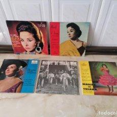 Discos de vinilo: MARIFE DE TRIANA LOTE SINGLE COLUMBIA VILLANCICOS LA LUNA Y EL TORO EN EL QUICIO DE MI PUERTA. Lote 218889378