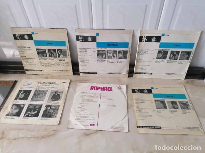 Discos de vinilo: Raphael canta a la Navidad lote single hispavox yo soy aquel estuve enamorado amo - Foto 2 - 218889535