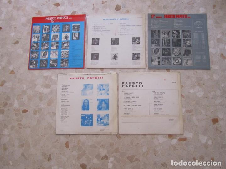 Discos de vinilo: LOTE DISCOS LPS DE FAUSTO PAPETTI - Foto 2 - 218893037
