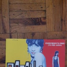 Disques de vinyle: ROZALLA – EVERYBODY'S FREE (TO FEEL GOOD) SELLO: FLARENASCH – 15.139, CARRERE – 15.139. Lote 218893206