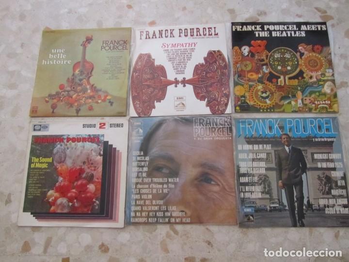 LOTE DISCOS LPS DE FRANCK POURCEL Y SU GRAN ORQUESTA (Música - Discos - LP Vinilo - Canción Francesa e Italiana)