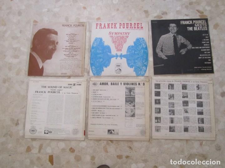 Discos de vinilo: LOTE DISCOS LPS DE FRANCK POURCEL Y SU GRAN ORQUESTA - Foto 2 - 218893275