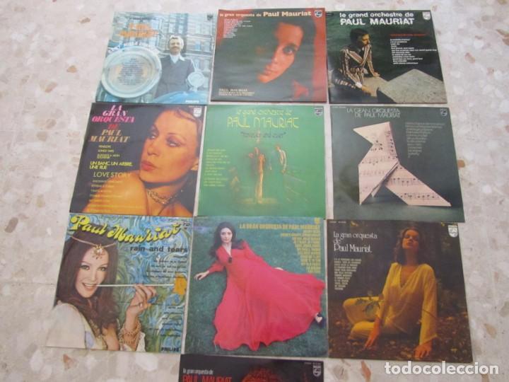 LOTE DISCOS LPS DE PAUL MAURIAT Y SU ORQUESTA (Música - Discos - LP Vinilo - Canción Francesa e Italiana)