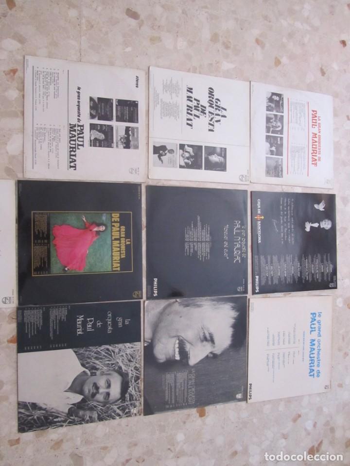 Discos de vinilo: LOTE DISCOS LPS DE PAUL MAURIAT Y SU ORQUESTA - Foto 3 - 218893606