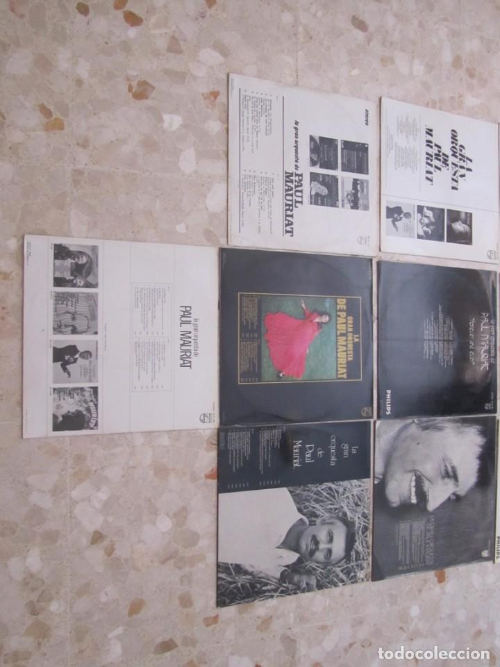 Discos de vinilo: LOTE DISCOS LPS DE PAUL MAURIAT Y SU ORQUESTA - Foto 4 - 218893606
