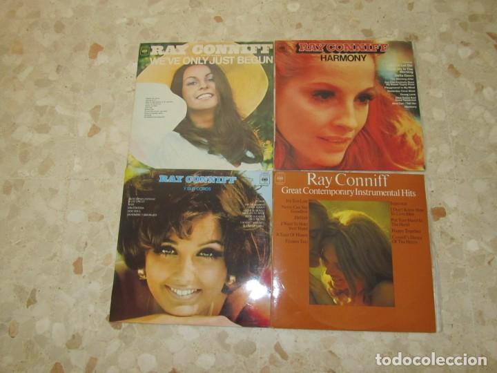 LOTE DISCOS LPS DE RAY CONNIF (Música - Discos - LP Vinilo - Cantautores Extranjeros)