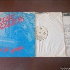 Discos de vinilo: LP LOQUILLO Y TROGLODITAS RITMO DEL GARAGE GALLETA BLANCA 1983 GARAJE ROCK ESPAÑOL VINILO. Lote 218896727