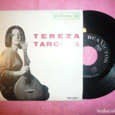 "Discos de vinilo: 7"" TEREZA TAROUCA - O RISO QUE ME DESTE - EP - PORTUGAL PRESS - RCA TP-337 (EX-/EX+). Lote 218899426"
