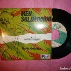 """Discos de vinilo: 7"""" MARIA ARMANDA - MEU SOLDADINHO - EP - PORTUGAL PRESS - FF FFEP 0022 (EX-/EX-). Lote 218901676"""