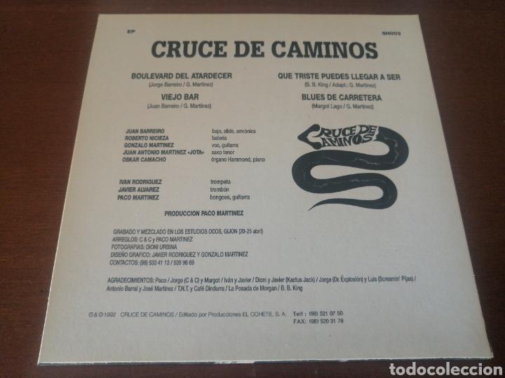 Discos de vinilo: EP CRUCE DE CAMINOS ROAD MOVIES 1992 - Foto 2 - 218901766