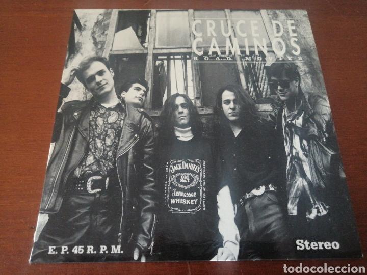 EP CRUCE DE CAMINOS ROAD MOVIES 1992 (Música - Discos de Vinilo - EPs - Grupos Españoles de los 90 a la actualidad)