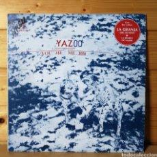 Discos de vinilo: LP ALBUM , YAZOO , YOU AND ME BOTH , HECHO EN MEXICO. Lote 218904828