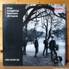 Discos de vinilo: LP ALBUM , THE MIGHTY LEMON DROPS , WORLD WITHOUT END , IMPORT.UK. Lote 225779545