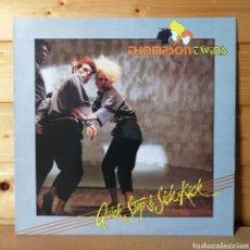 Discos de vinilo: LP ALBUM , THOMSON TWINS , QUICK STEP , IMPORT.AUSTRALIA.. Lote 218905622