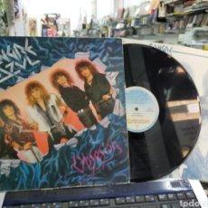Discos de vinilo: SANGRE AZUL LP OBSESIÓN 1987 ESCUCHADO. Lote 218905802