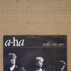 Discos de vinil: A-HA – TAKE ON ME SELLO: WARNER BROS. RECORDS – 929 006-7, WARNER BROS. RECORDS – 92 9006-7. Lote 229574895