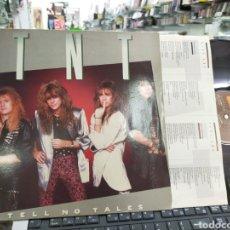 Discos de vinilo: TNT LP TELL NO TALES 1987. Lote 218907637