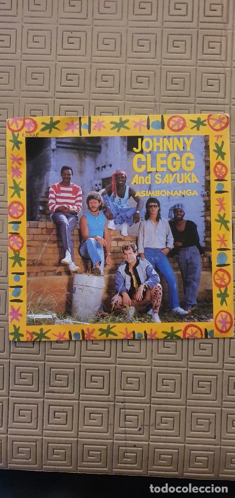 "JOHNNY CLEGG AND SAVUKA – ASIMBONANGA SELLO: EMI – 2017377 FORMATO: VINYL, 7"", 45 RPM (Música - Discos - Singles Vinilo - Étnicas y Músicas del Mundo)"