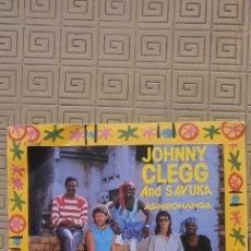 "Discos de vinilo: JOHNNY CLEGG AND SAVUKA – ASIMBONANGA SELLO: EMI – 2017377 FORMATO: VINYL, 7"", 45 RPM. Lote 218909038"