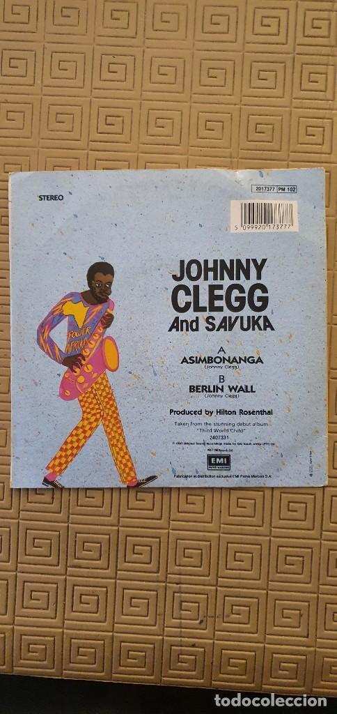 "Discos de vinilo: Johnny Clegg And Savuka – Asimbonanga Sello: EMI – 2017377 Formato: Vinyl, 7"", 45 RPM - Foto 2 - 218909038"
