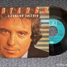 Discos de vinilo: DYANGO - CORAZON MAGICO / A UD. SEÑORA. EDITADO POR EMI. AÑO 1.983. Lote 218909503