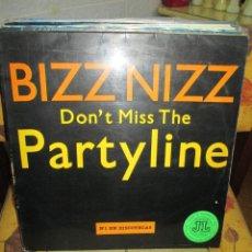 Discos de vinilo: BIZZ NIZZ ?– DON'T MISS THE PARTYLINE. Lote 218911411
