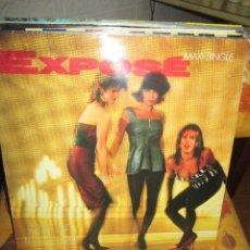Discos de vinilo: EXPOSÉ ?– POINT OF NO RETURN (EXTENDED MIX). Lote 218912120