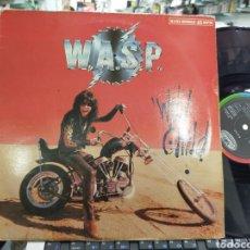 Discos de vinilo: WASP MAXI WILD CHILD ESPAÑA 1986. Lote 218912485