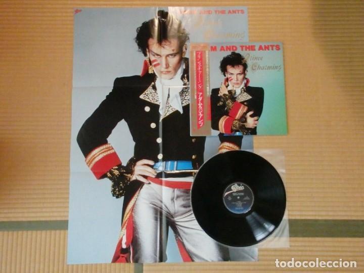 VINILO EDICIÓN JAPONESA DEL LP DE ADAM AND THE ANTS - PRINCE CHARMING (Música - Discos - LP Vinilo - Pop - Rock - New Wave Internacional de los 80)